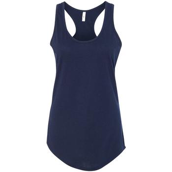 vaatteet Naiset Hihattomat paidat / Hihattomat t-paidat Next Level NX1533 Midnight Navy