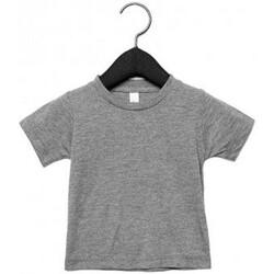 vaatteet Lapset Lyhythihainen t-paita Canvas CA3413T Grey Triblend