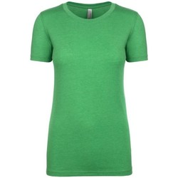 vaatteet Naiset Lyhythihainen t-paita Next Level NX6710 Envy