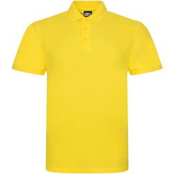 vaatteet Miehet Lyhythihainen poolopaita Prortx RX101 Yellow