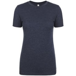 vaatteet Naiset Lyhythihainen t-paita Next Level NX6710 Vintage Navy