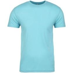 vaatteet Lyhythihainen t-paita Next Level NX3600 Tahiti Blue