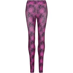 vaatteet Naiset Legginsit Awdis JC077 Speckled Pink