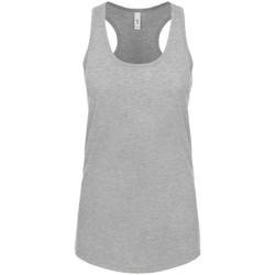 vaatteet Naiset Hihattomat paidat / Hihattomat t-paidat Next Level NX1533 Heather Grey