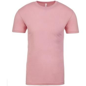 vaatteet Lyhythihainen t-paita Next Level NX3600 Light Pink