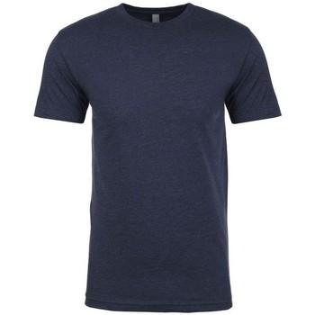 vaatteet Miehet Lyhythihainen t-paita Next Level NX6210 Midnight Navy