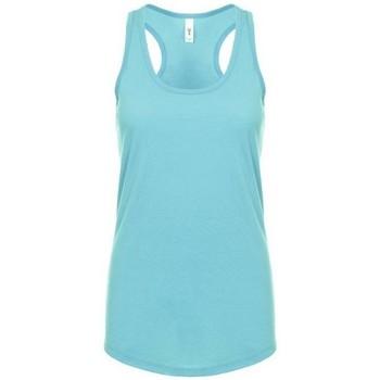 vaatteet Naiset Hihattomat paidat / Hihattomat t-paidat Next Level NX1533 Tahiti Blue