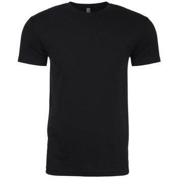 vaatteet Miehet Lyhythihainen t-paita Next Level NX6210 Black