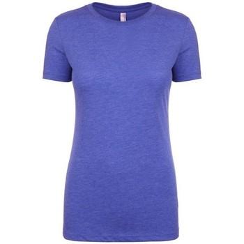 vaatteet Naiset Lyhythihainen t-paita Next Level NX6710 Vintage Royal Blue