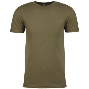 vaatteet Miehet Lyhythihainen t-paita Next Level NX6210 Military Green