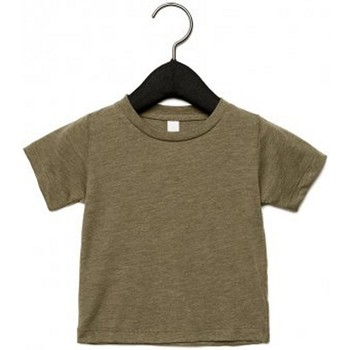 vaatteet Lapset Lyhythihainen t-paita Canvas CA3413T Olive Triblend