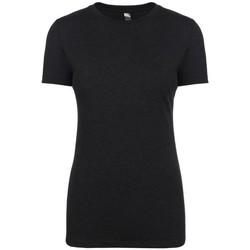 vaatteet Naiset Lyhythihainen t-paita Next Level NX6710 Vintage Black