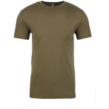 vaatteet Lyhythihainen t-paita Next Level NX3600 Military Green