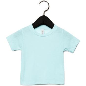 vaatteet Lapset Lyhythihainen t-paita Canvas CA3413T Ice Blue Triblend