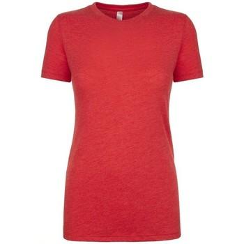 vaatteet Naiset Lyhythihainen t-paita Next Level NX6710 Vintage Red