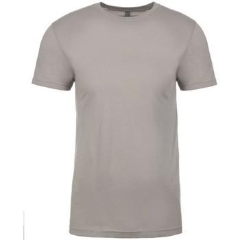 vaatteet Lyhythihainen t-paita Next Level NX3600 Light Grey