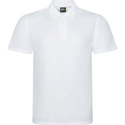 vaatteet Miehet Lyhythihainen poolopaita Prortx RX101 White
