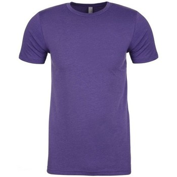 vaatteet Miehet Lyhythihainen t-paita Next Level NX6210 Purple Rush