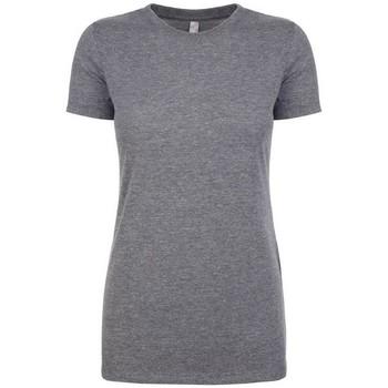 vaatteet Naiset Lyhythihainen t-paita Next Level NX6710 Premium Heather