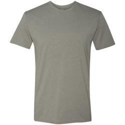 vaatteet Miehet Lyhythihainen t-paita Next Level NX6210 Stone Grey