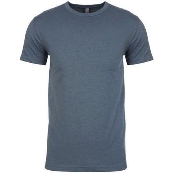 vaatteet Miehet Lyhythihainen t-paita Next Level NX6210 Indigo