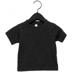 vaatteet Lapset Lyhythihainen t-paita Canvas CA3413T Charcoal Black Triblend