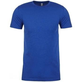 vaatteet Miehet Lyhythihainen t-paita Next Level NX6210 Royal Blue