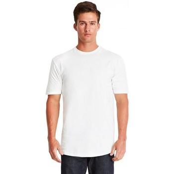 vaatteet Miehet Lyhythihainen t-paita Next Level NX3602 White