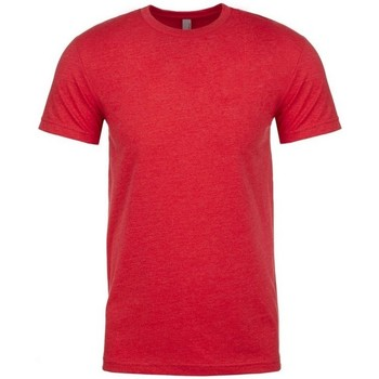 vaatteet Miehet Lyhythihainen t-paita Next Level NX6210 Red
