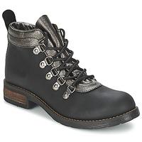 kengät Naiset Bootsit Casual Attitude MIZATTE Black