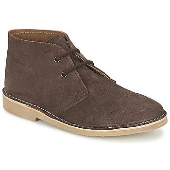 kengät Miehet Bootsit Casual Attitude IXIFU Brown