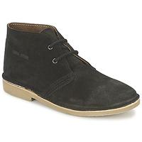 kengät Miehet Bootsit Casual Attitude IXIFU Black