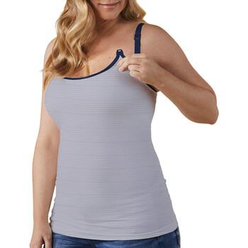 vaatteet Naiset Hihattomat paidat / Hihattomat t-paidat Bravado 31007 BA FDST Valkoinen