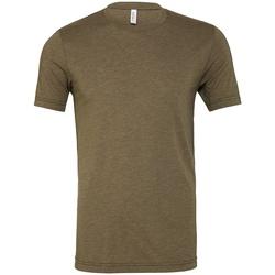 vaatteet Lyhythihainen t-paita Bella + Canvas CV3413 Military Green