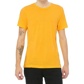 vaatteet Lyhythihainen t-paita Bella + Canvas CV3413 Yellow Gold Triblend