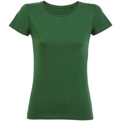 vaatteet Naiset Lyhythihainen t-paita Sols 02077 Bottle Green