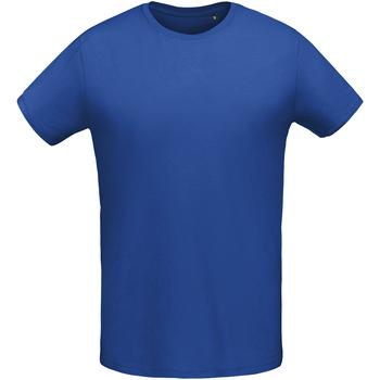 vaatteet Miehet Lyhythihainen t-paita Sols 02855 Royal Blue