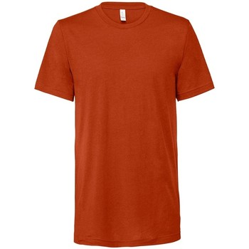 vaatteet Lyhythihainen t-paita Bella + Canvas CV3413 Brick Triblend