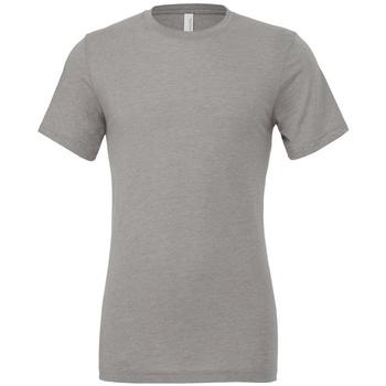 vaatteet Lyhythihainen t-paita Bella + Canvas CV3413 Athletic Grey Triblend