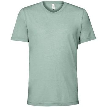 vaatteet Lyhythihainen t-paita Bella + Canvas CV3413 Dusty Blue Triblend