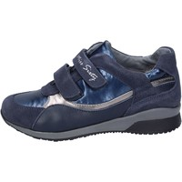 kengät Tytöt Tennarit Miss Sixty sneakers camoscio tessuto Blu
