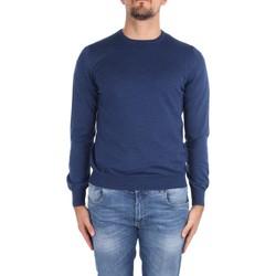vaatteet Miehet Neulepusero La Fileria 14290 55167 Blue