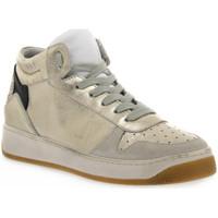 kengät Naiset Urheilukengät At Go GO 584 VELOUR GHIACCIO Bianco
