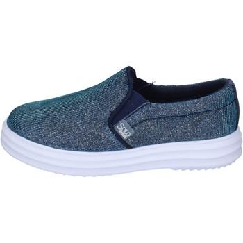 kengät Tytöt Tennarit Solo Soprani slip on tessuto Blu