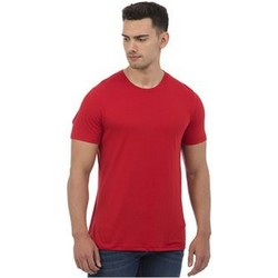 vaatteet Miehet Lyhythihainen t-paita Awdis JT001 Heather Red