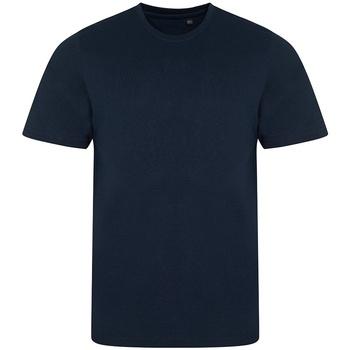 vaatteet Miehet Lyhythihainen t-paita Awdis JT001 Solid Navy