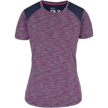 vaatteet Naiset Lyhythihainen t-paita Trespass  Berry Stripe
