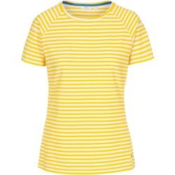 vaatteet Naiset Lyhythihainen t-paita Trespass  Sunshine Stripe
