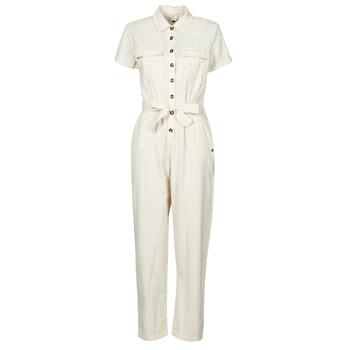 vaatteet Naiset Jumpsuits / Haalarit Roxy BEACH WONDERLAND Valkoinen