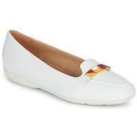 kengät Naiset Balleriinat Geox D ANNYTAH White